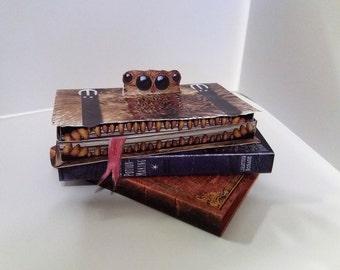 Printable Harry Potter Monster Book of Monster favor box