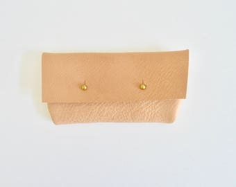 Natural Leather Sunglasses Case