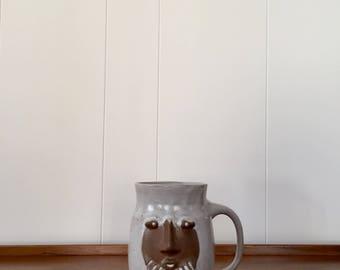 Vintage David Stewart Lion's Valley Face Mug