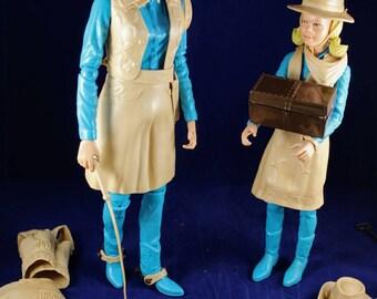 Vintage Jane West and Josie West Dolls 1960's