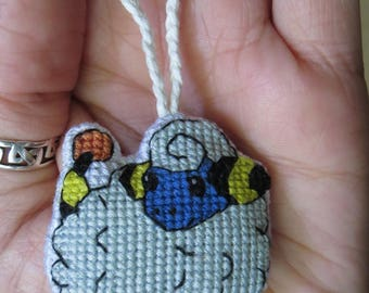 Mareep Pokemon Charm for Keychain, Bags, Backpacks, Purses, and/or Zipper