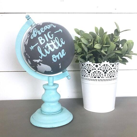 hand bemalt globus traum gro e kleine ein kinderzimmer. Black Bedroom Furniture Sets. Home Design Ideas