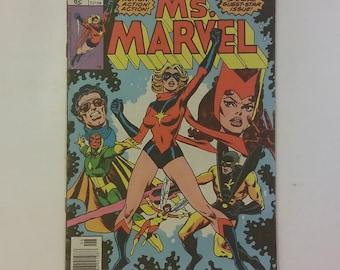 Vintage Marvel Comics Ms. Marvel #18, 1977