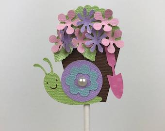 Snail Cupcake Topper