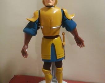 """VTG DISNEY Hunchback of Notre Dame PHEOBUS 10"""" Finger puppet. 90s Burger King"""