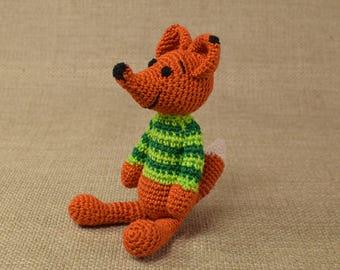Crochet Fox, Amigurumi Fox, Stuffed Fox, Soft Toy Fox, Plush Fox, Crochet Animal Toy