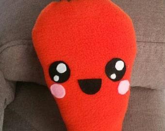 Cute kawaii carrot plush,ready to ship,kawaii carrot,cute carrot,kawaii plushes,carrot soft toy,carrot doll,cute carrot plushie,veggie toy