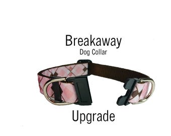 Break-away Dog Collar ADD ON *This must be purchased with along with a collar*