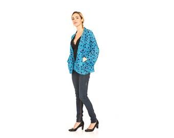 Kimono, Silk Kimono, Black and White Kimono Jacket, Kimono Cardigan, Kimono Jacket, Chrysanthemums, Summer Kimono, Short Kimono, Cardigan