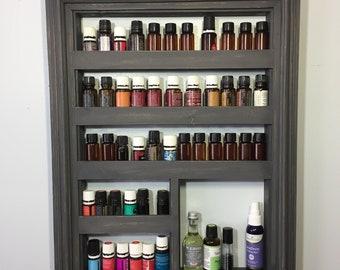 Essential Oil Shelf, oil storage, wall shelf, oil wood shelf, oils shelf, oil storage