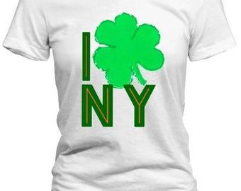 I Clover New York St Patrick's Day Tee