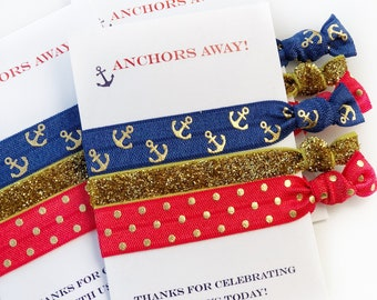 Nautical Party Favors, Nautical Party Supplies, Nautical Baby Shower Favors, Nautical Birthday Party Favors, Nautical Bachelorette Party