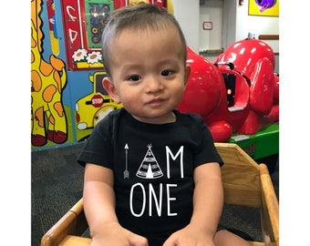 I am One, Wild One, Birthday Outfit, Wild One Shirt, 1st Birthday Outfit, First Birthday Shirt, First Birthday, Birthday shirt, One Year old