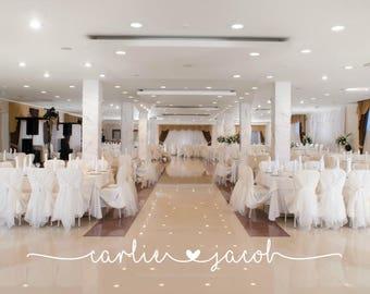 Wedding Floor Decal   Dance Floor Decal   Wedding Decal   Wedding Reception  Decor   Gold