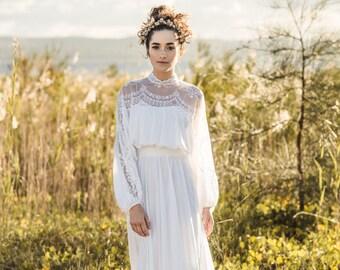 VIOLET - Vintage Wedding Dress