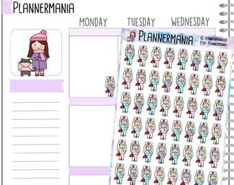 Planner Stickers, Nurse Sticker, Doctor Sticker, Hand Drawn Stickers, Cute Stickers 367