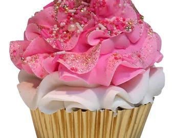 Date Night Cupcake Bath Bomb