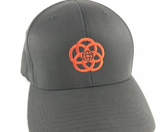 EPCOT Center Logo Hat - Flexfit Twill Hat with Embroidered with EPCOT logo - A Retrocot Original