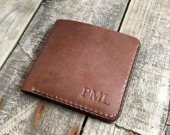 Large Kangaroo Leather Wallet, Wallets For Men, Mens Leather Wallet, Bifold Wallet, Gift Ideas for Men, Leather Anniversary Gift