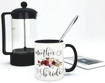 Mother Of The Bride Mug or Mother Of The Groom Mug - Gift For Mom - I Survived My Daughters Wedding