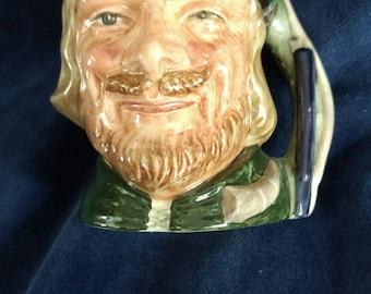 ROBIN HOOD Vintage Royal Doulton Collection Large Toby Mug-Jug-Pitcher D6534