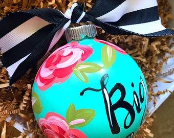 Big & Little Sorority Ornament