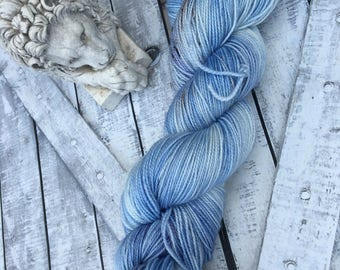 Hand Dyed Yarn, Queen Susan the Gentle, Narnia, The Lion The Witch & the Wardrobe,Fingering Weight,Merino wool,100 gram,Toad Hollow yarns
