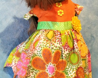 Party dog dress size small