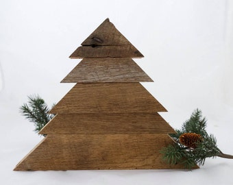 100 year old barn wood christmas tree rustic christmas trees reclaimed wood wooden - Wooden Christmas Tree