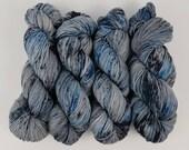 The Blue Pill - 4 ounce Skein - Merino/Nylon/Tencel - Elven