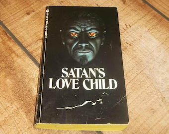 SATAN'S LOVE CHILD Brian McNaughton, Paperback Book, 1980, Human Sacrifice, Gothic Horror, Satanic Novel, Rare Horror