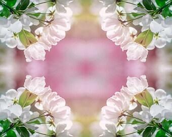 Spring Blossoms Bullseye