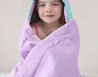 Beach Gift for Girls - Girls Hooded Towel - Spa Gift for Girls - Girls Towel - Towel Hoodie - Girls Birthday Gift - Hooded Towel for Girls