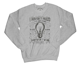 Sweatshirt with sayings quote sweatshirt funny sweater hipster sweater motivation sweater adventure sweatshirt success sweatshirt  APV56