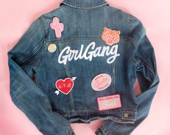 Girl Gang Back Patch
