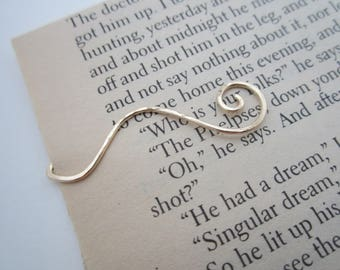 Sweetheart Metal Wire Bookmark - Book Page Holder - Clip - Handmade Book Accessories