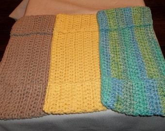 Reusable crochet swifter pads