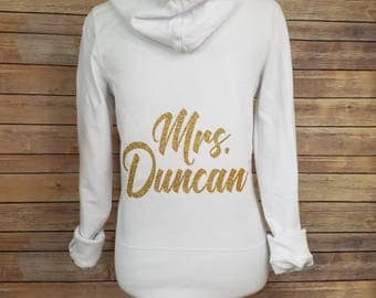 The Mrs. Zip Hoodie