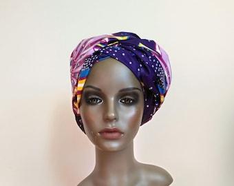 Ankara Print Head scarf/African Head wrap for women/Ankara Head wrap/Print Head wrap/African Head scarf/African fabric/African clothing