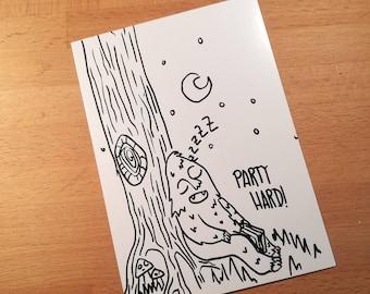 yeti bookworm card