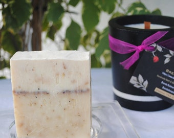 Exfoliating Men's Body Soap (pepper corn)Handmade,Moisturizing Soap,Fathers Day Gifts,Brendadsoap.