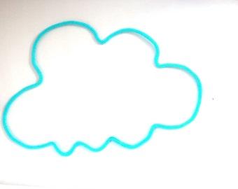 wool cloud / knitting / nursery decor - gift