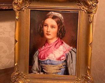 Porcelain Helene Sedlmayer Portrait