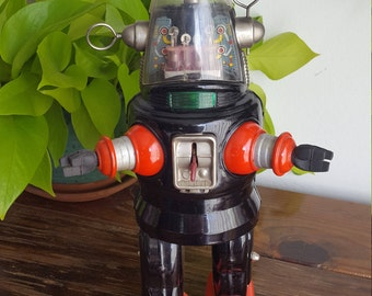 Nomura Mechanized Robby the Robot Tin 1950's