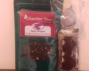 Mothers Day, Tea and Chocolate, Vegan Gift Set, Bunny Meshball, Spiced Chai tea, Vegan Chocolate