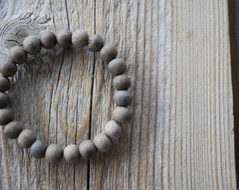 Graywood bracelet yoga bracelet wood bracelet mala beads meditation beads yoga beads yoga jewelry