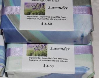 Soap Handmade Goat Milk Soap Bar Lavender Soap Hand Crafted Natural Soap