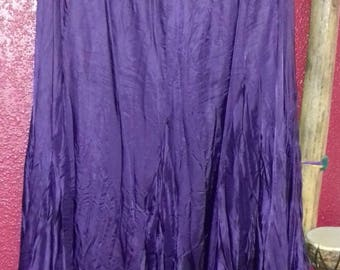 Monsoon purple skirt