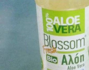 Buy 1 and get 1 for Free, 1000ml Organic Fresh 100% Aloe Vera juice, pure,handmade production daily made