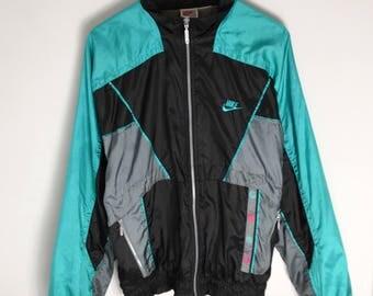 NIKE windbreaker vintage Men M L Women XL 90s windbreaker Vintage Nike windbreaker 90s Jacket Vintage windbreaker Nike Jacket vintage 1990